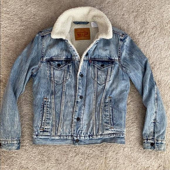 Men's Levi's Sherpa Truckers Jacket